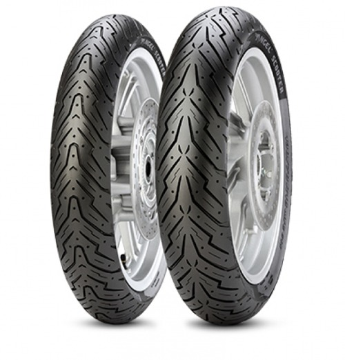 Foto pneumatico: PIRELLI, ANGEL SCOOTER 80/90 -10 44J Estive